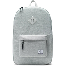 Herschel Heritage Selkäreppu, light grey crosshatch